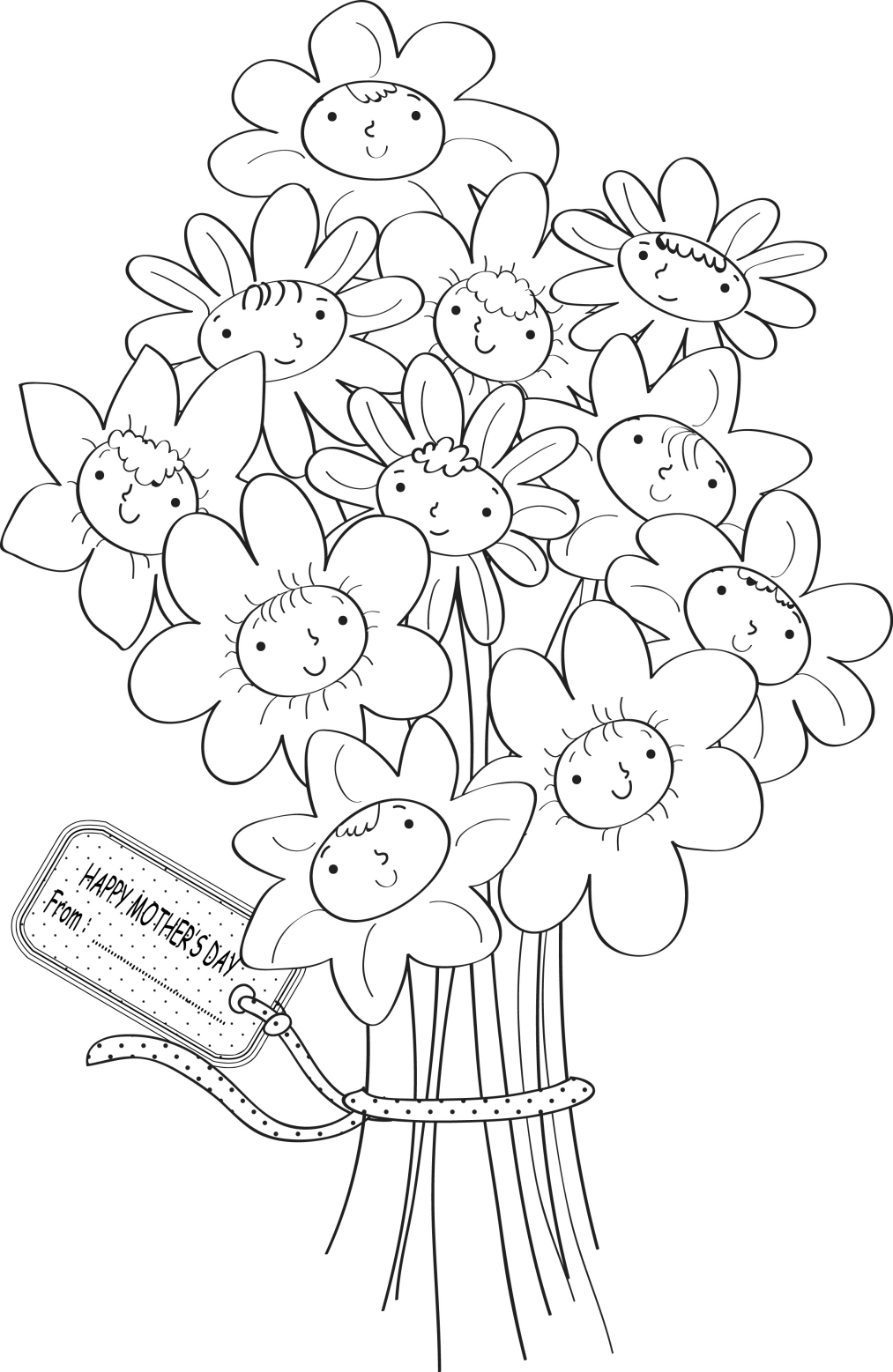 Трафареты для открытки на день рождения маме, день